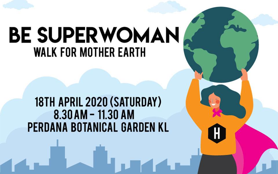 Be Superwoman Walk 2020 x Earth Day Scavenging Hunt