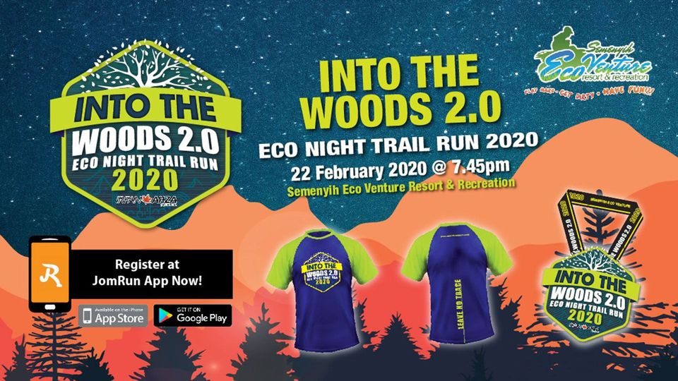 Into the Woods : Eco Night Trail Run 2020