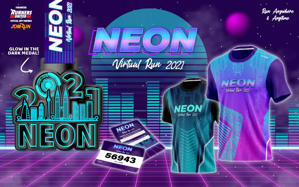 Neon Virtual Run 2021