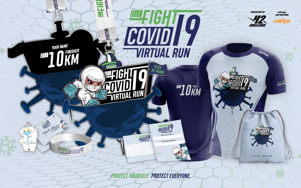 Fight Covid-19 Virtual Run - Indonesia