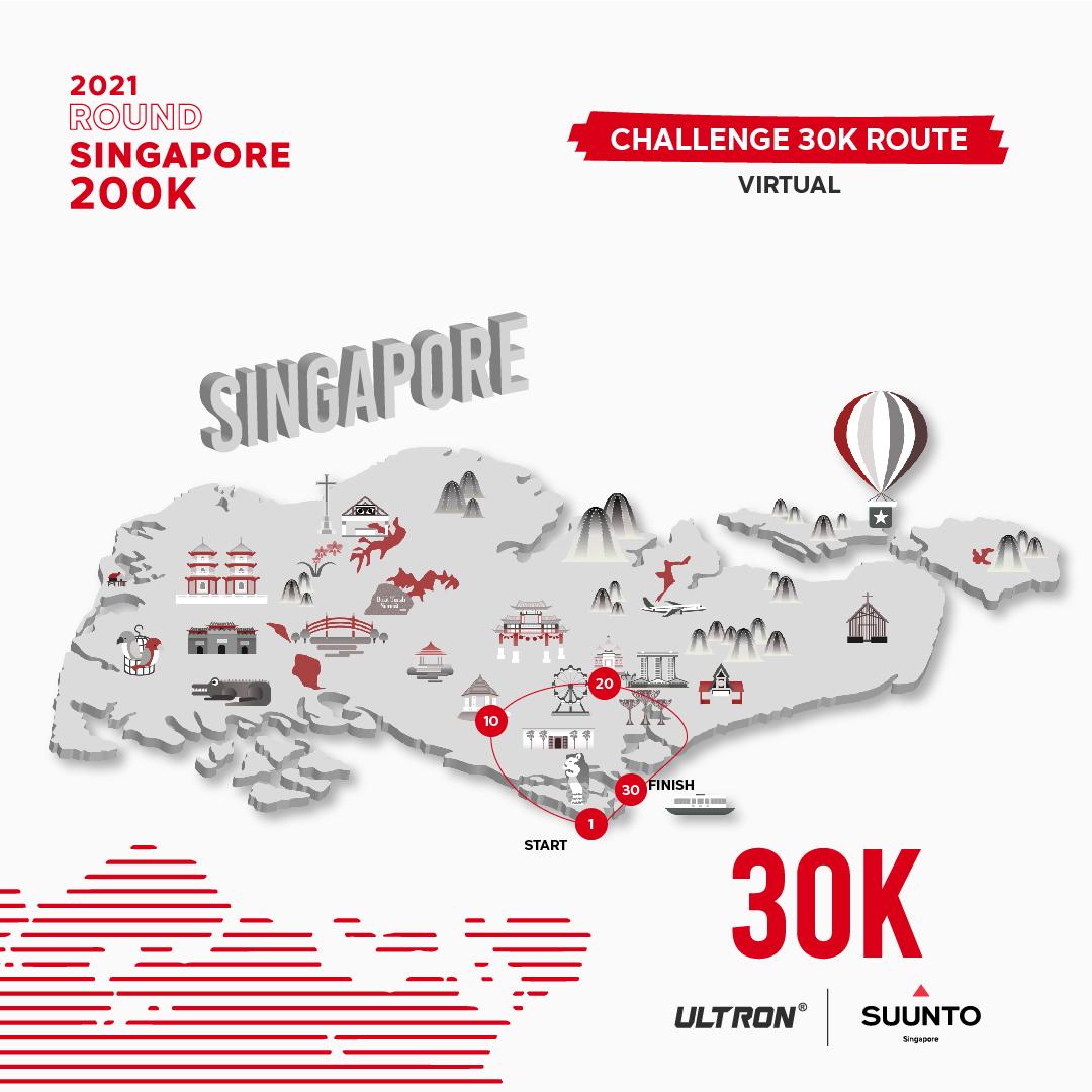 Suunto® 2021 Round Singapore 200K