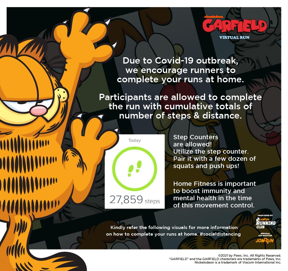 Garfield Virtual Run