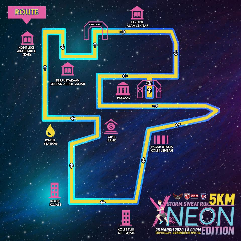 Storm Sweat Run X Neon 2020