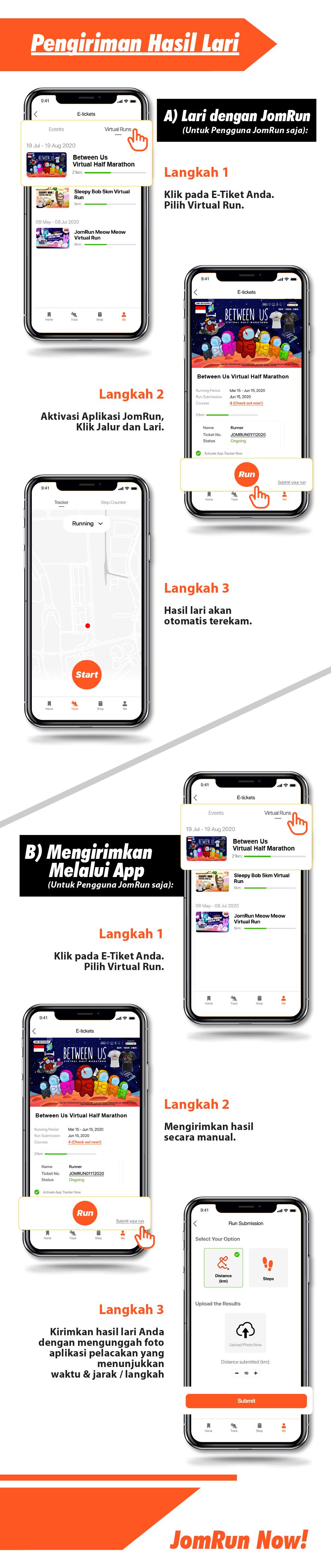 Tokyo Virtual Half Marathon - Indonesia