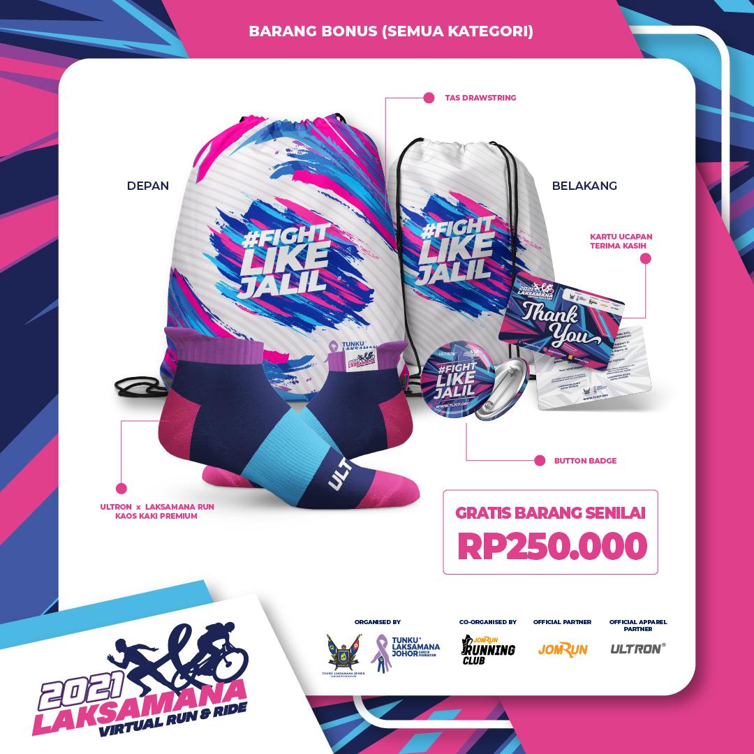 2021 Laksamana Virtual Run & Ride - Indonesia