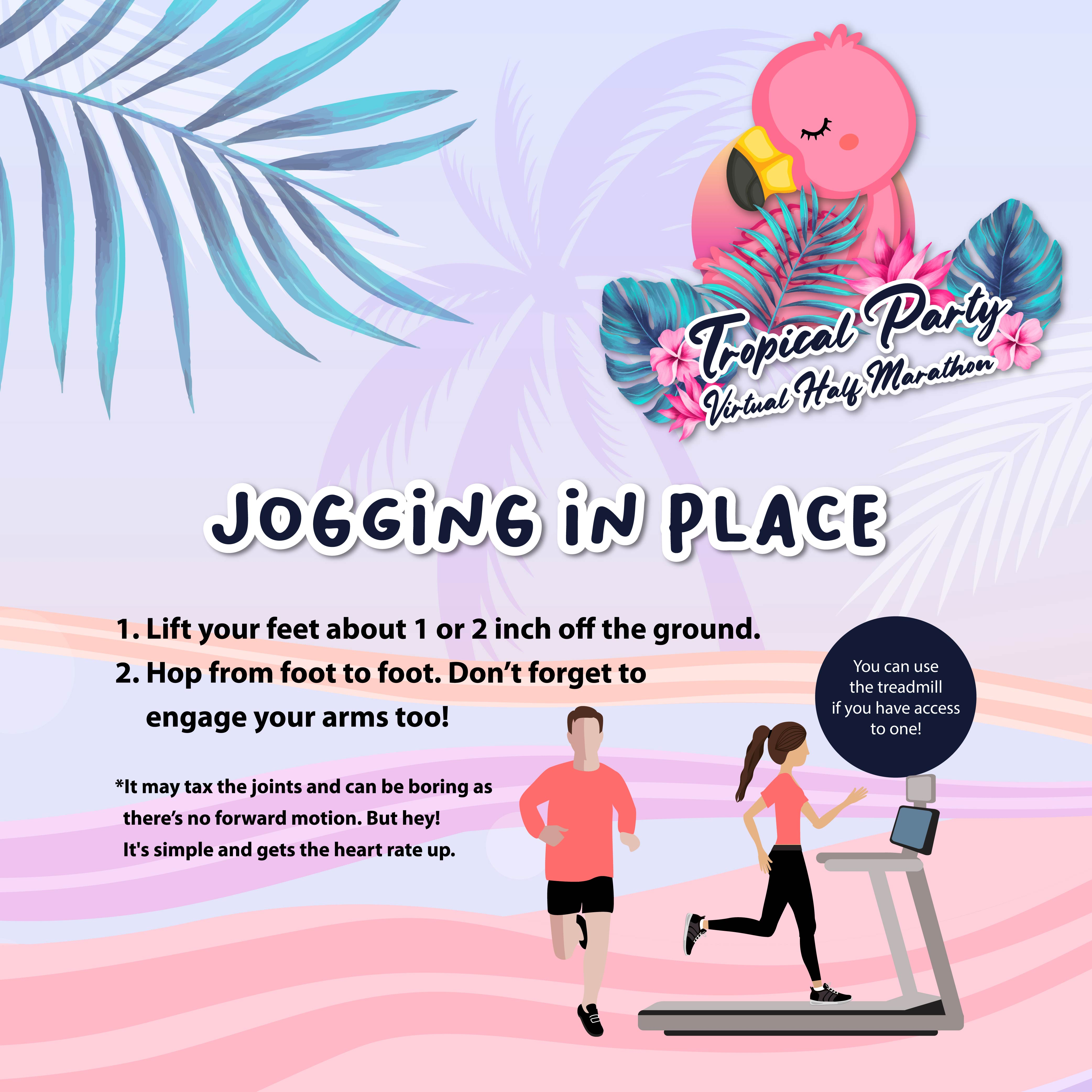 Tropical Party Virtual Half Marathon