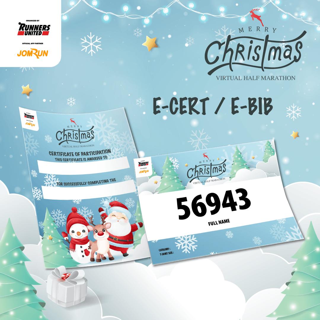Merry Christmas Virtual Half Marathon - Singapore/Brunei