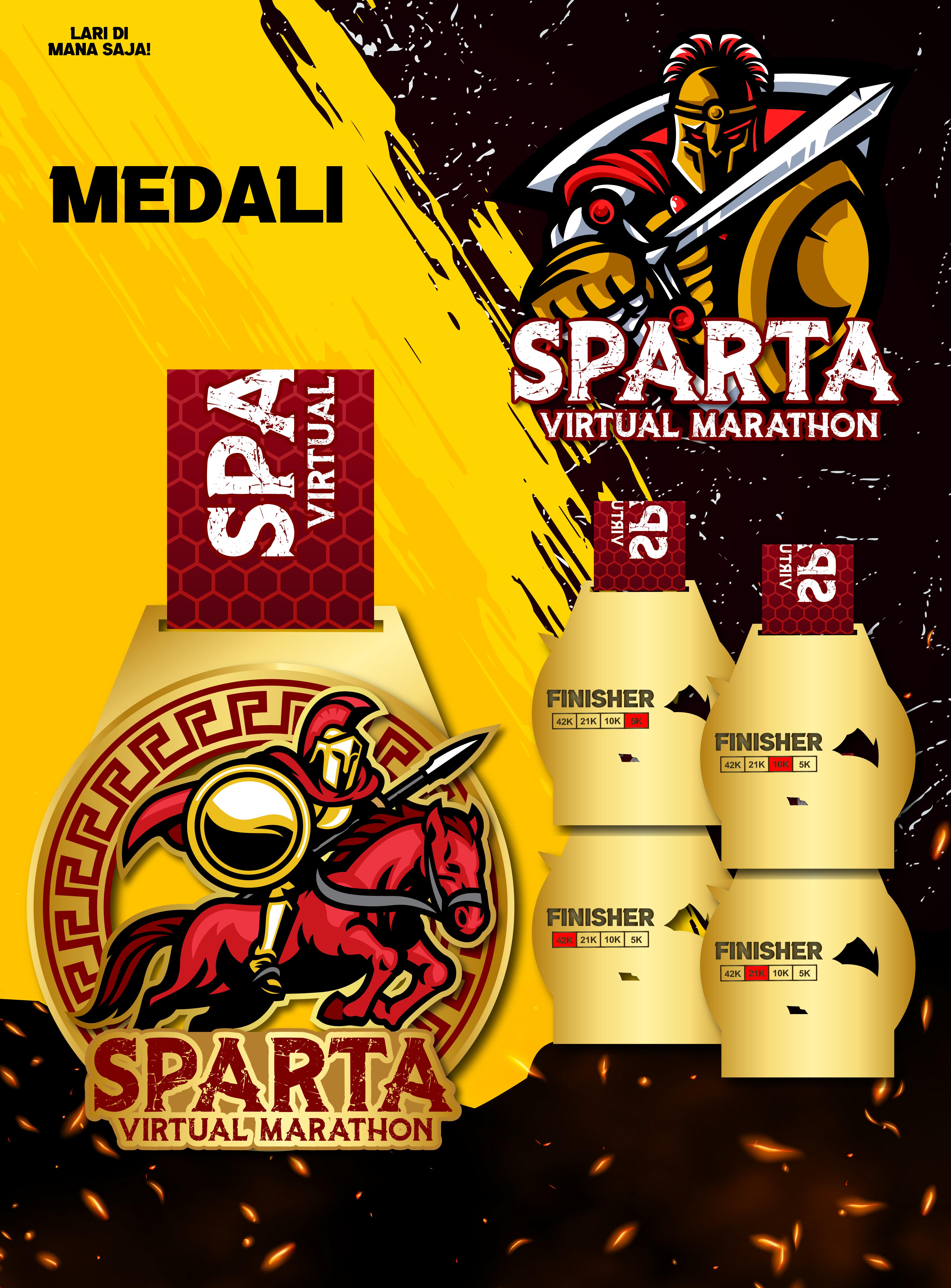 Sparta Virtual Marathon - Indonesia