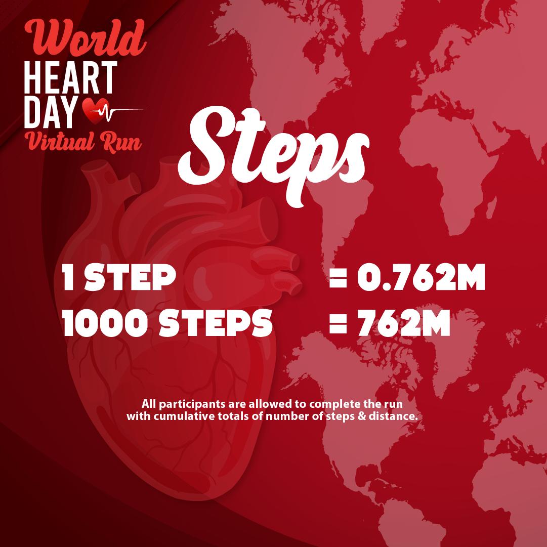 World Heart Day Virtual Run