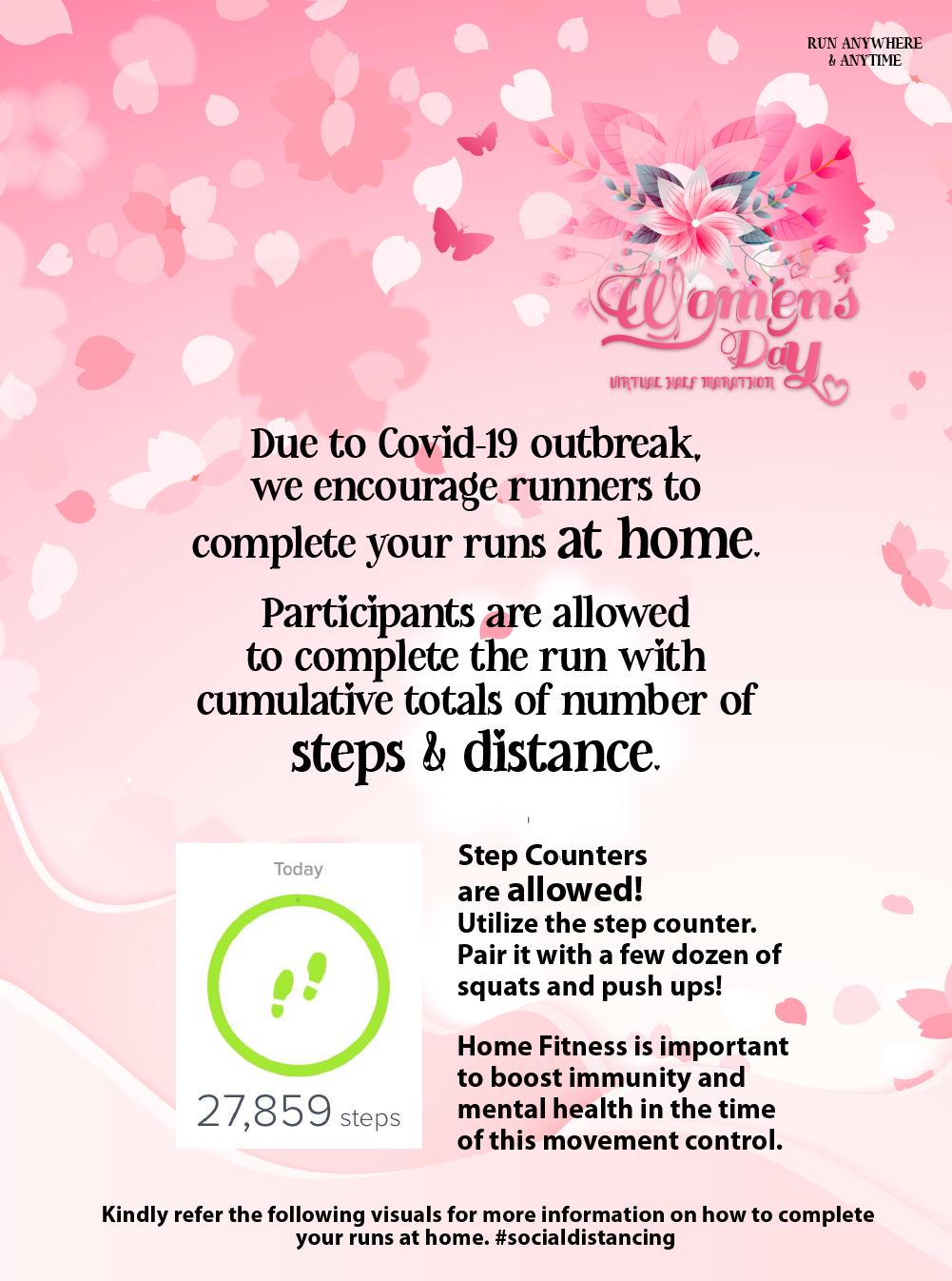 Women's Day Virtual Half Marathon