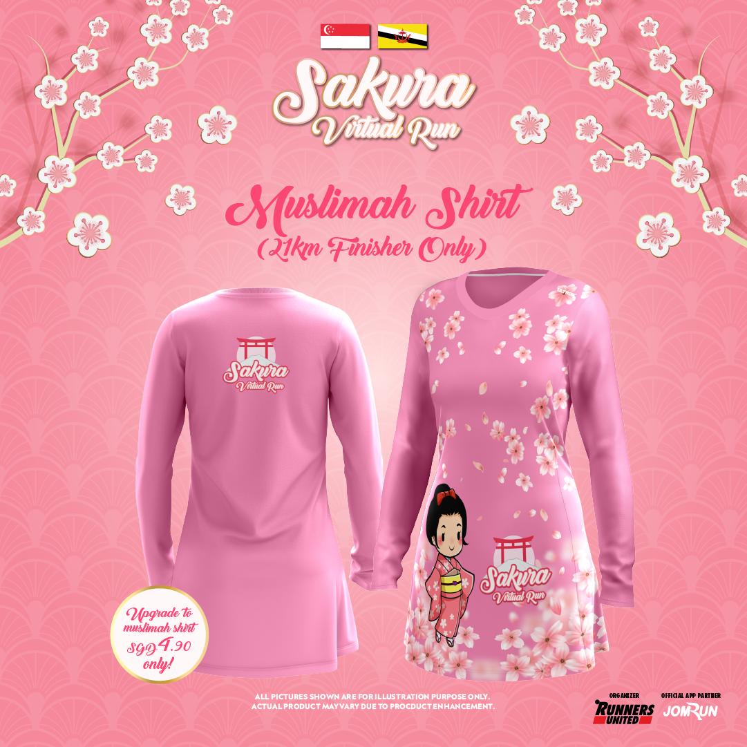 Sakura Virtual Run 2021 - SG/BR