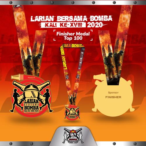Larian Bersama Bomba Kali Ke-XVIII 2020