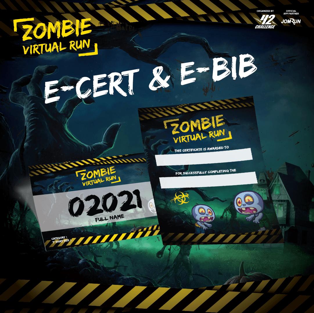 Zombie Virtual Run