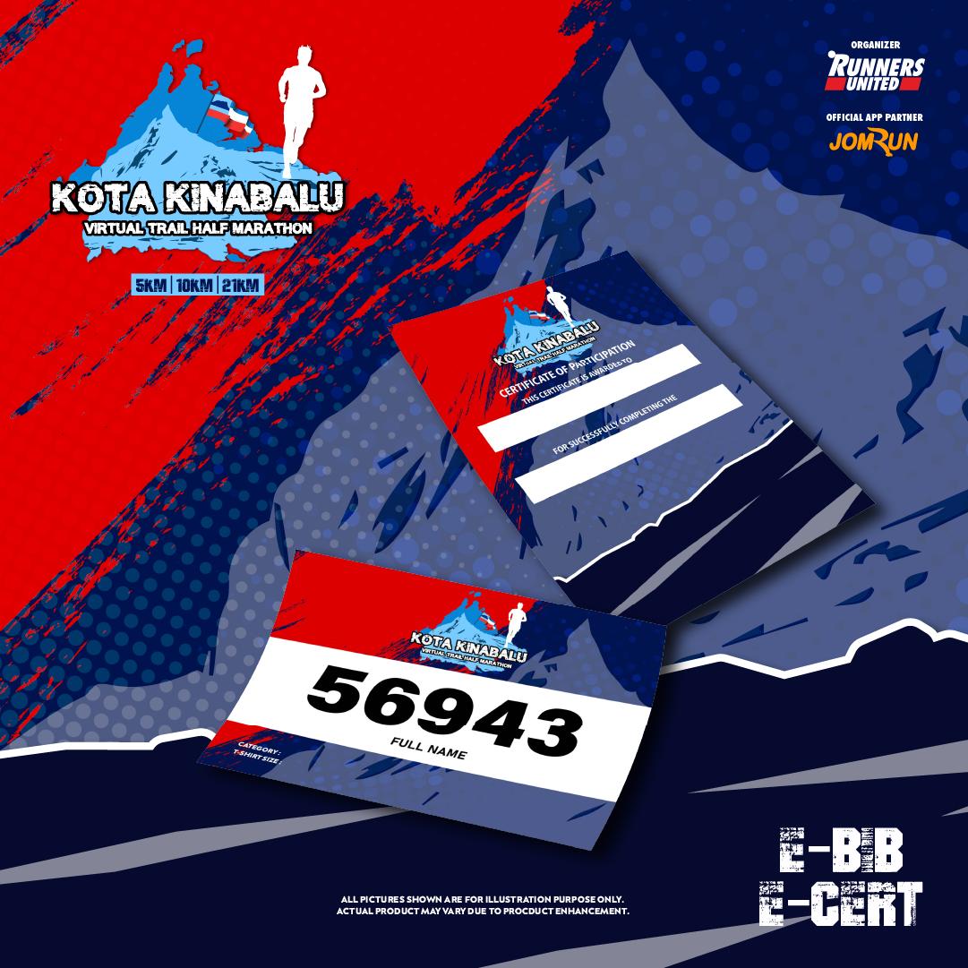 Kota Kinabalu Virtual Trail Half Marathon