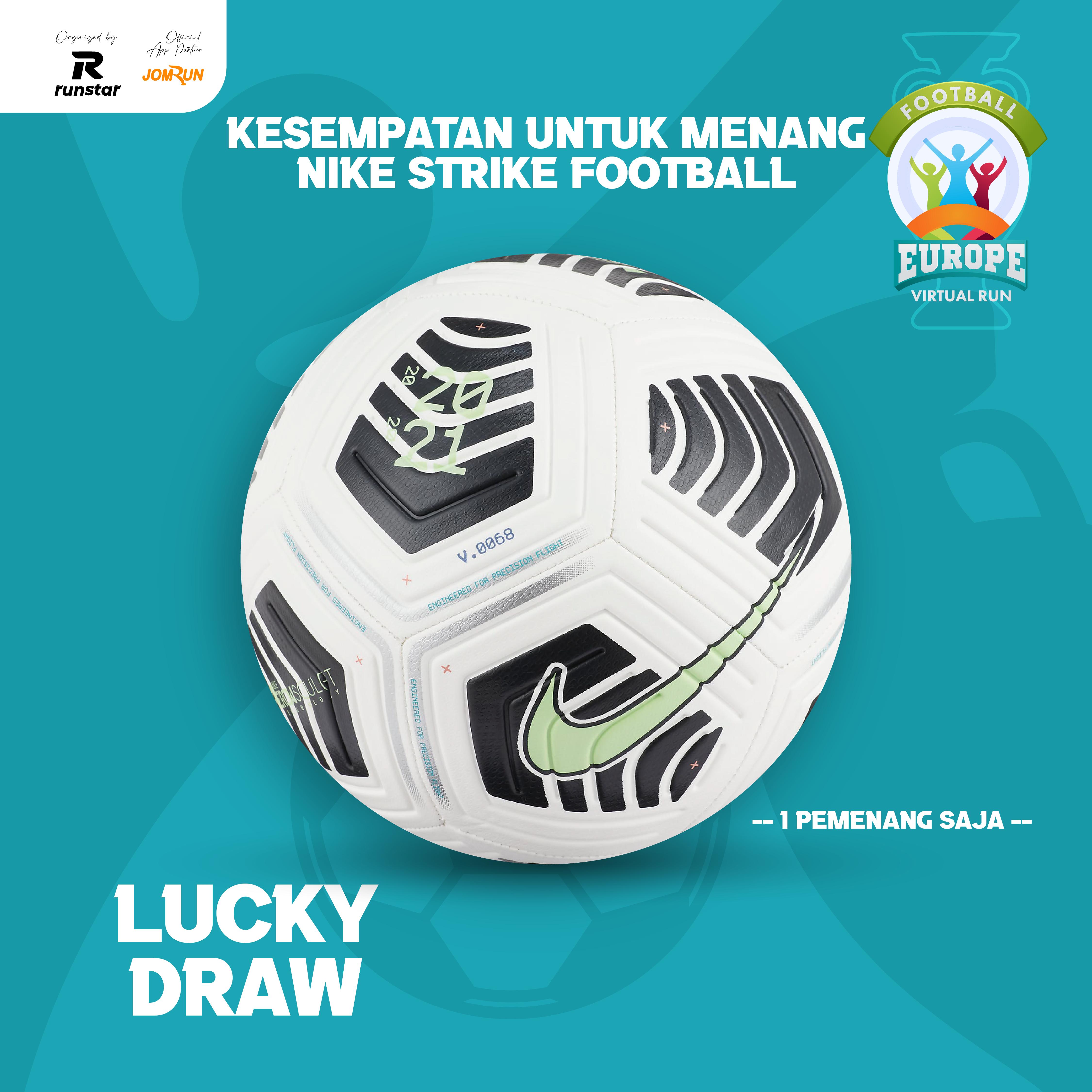 10KM Europe Football Virtual Run - Indonesia