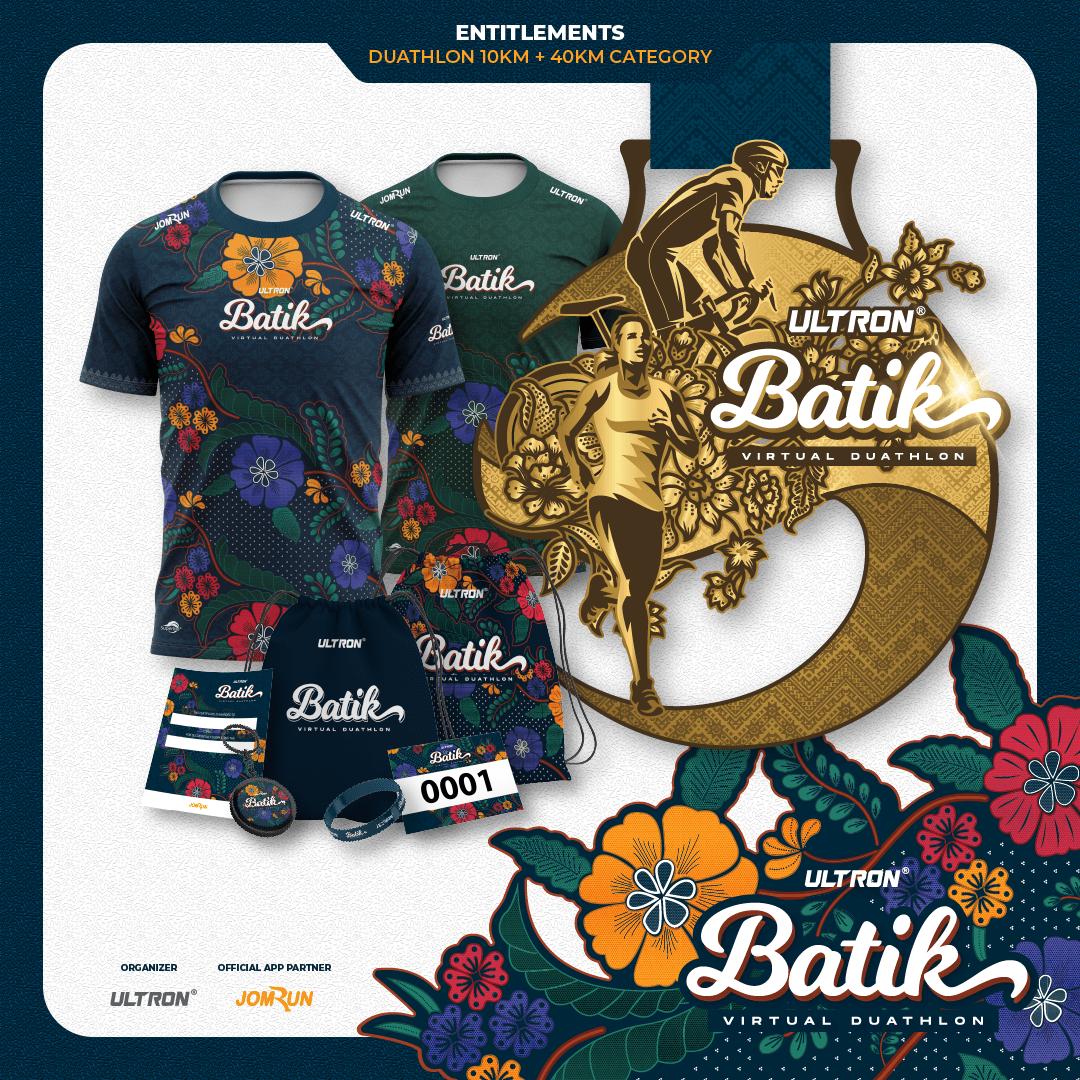 Ultron® Batik Virtual Duathlon - Malaysia