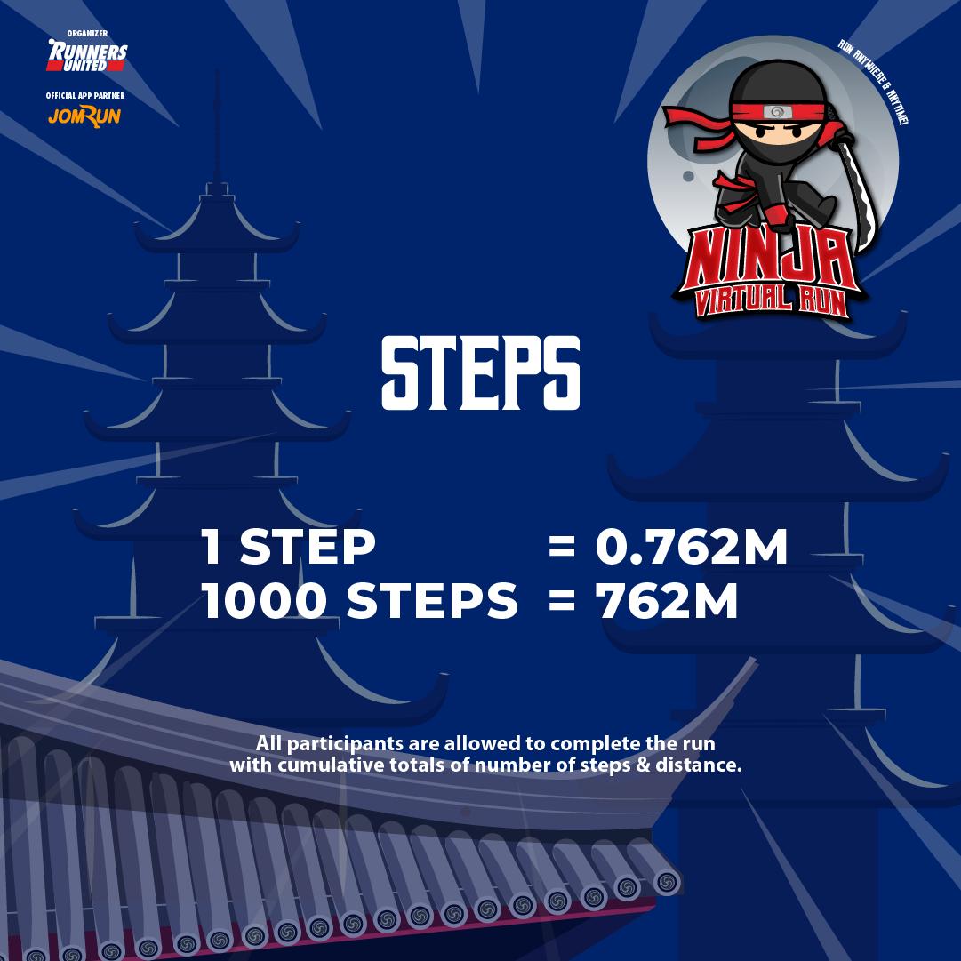 Ninja Virtual Run 2021