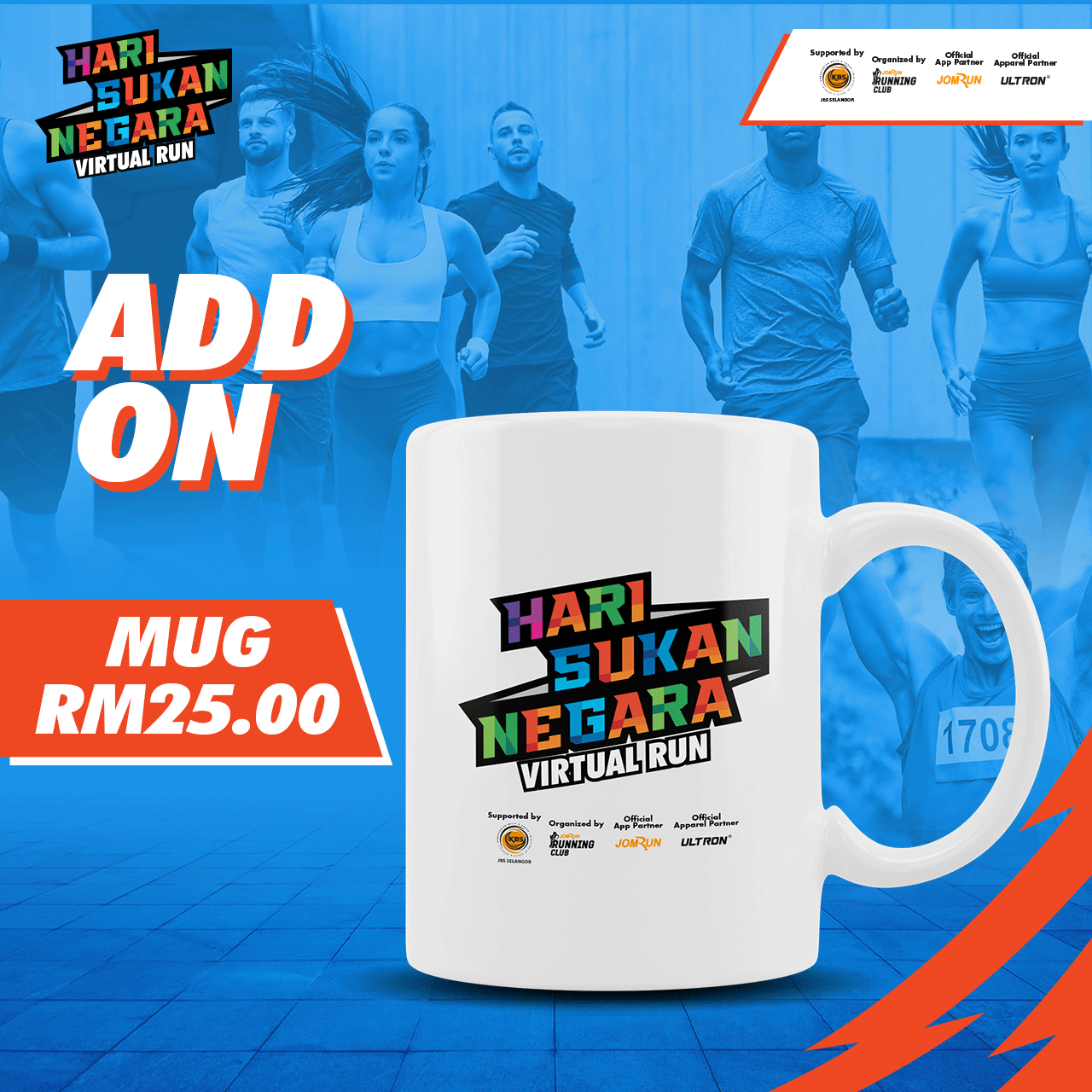 Hari Sukan Negara Virtual Run - Selangor