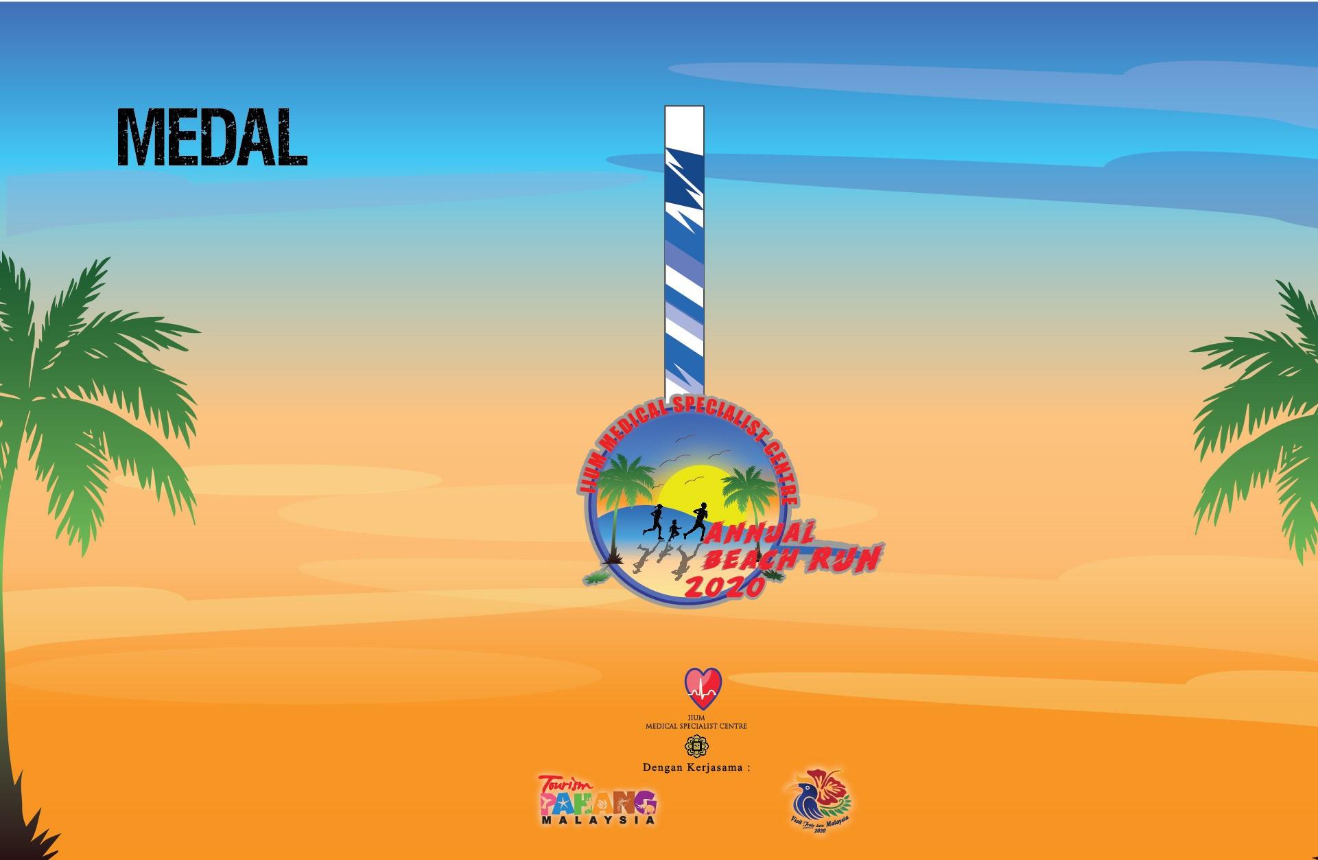 IIUM Medical Specialist Centre Annual Beach Run 2020