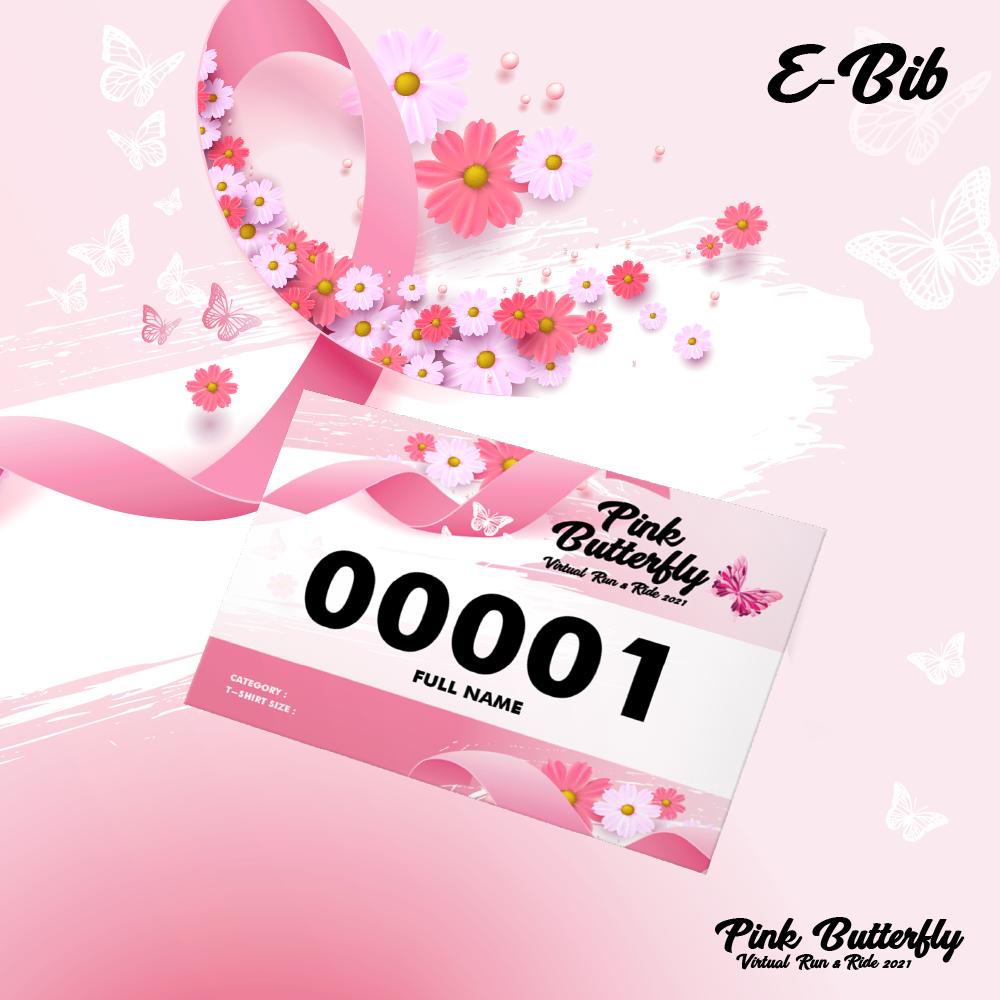Pink Butterfly Virtual Run & Ride 2021
