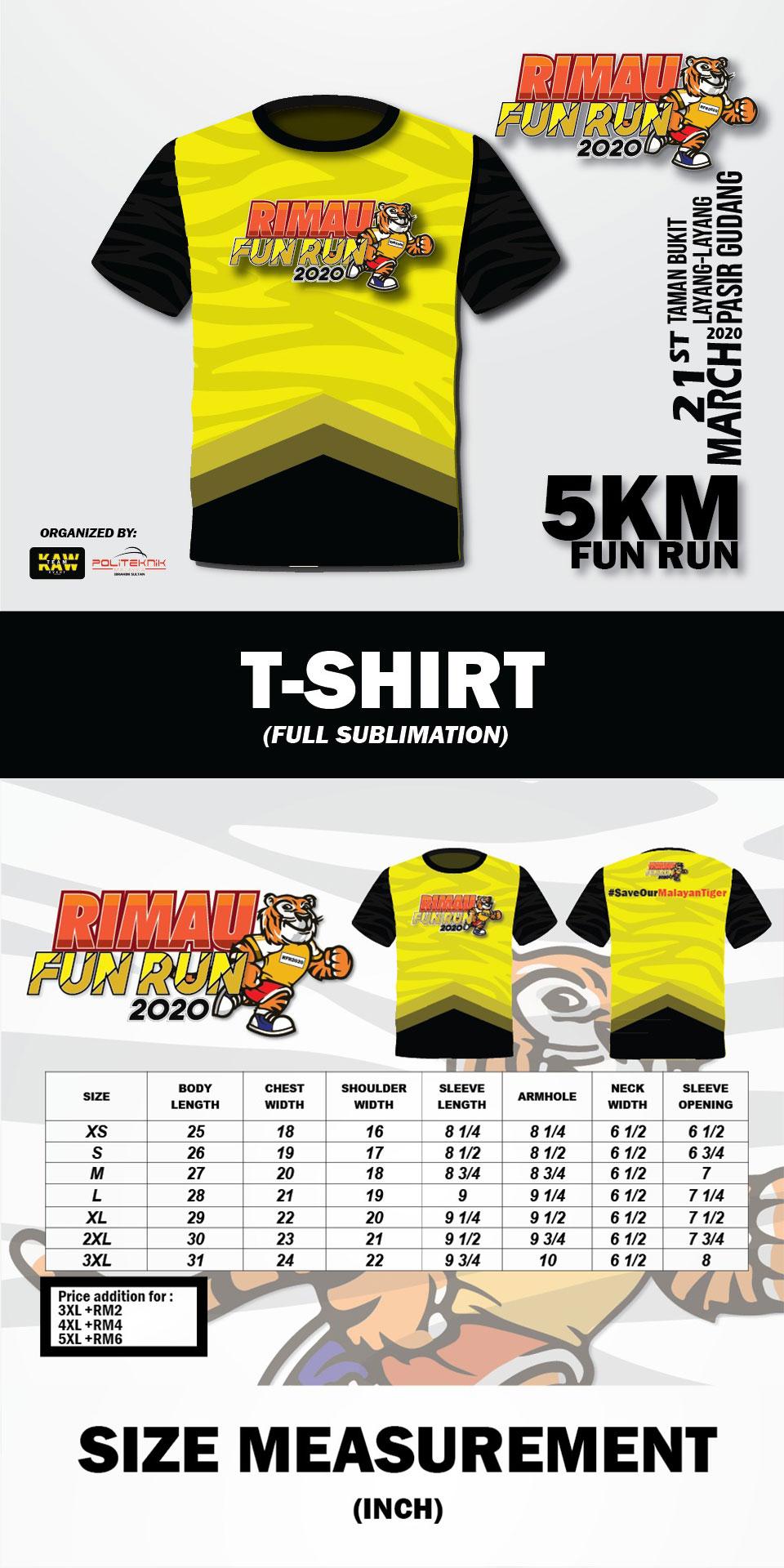 Rimau Fun Run 2020