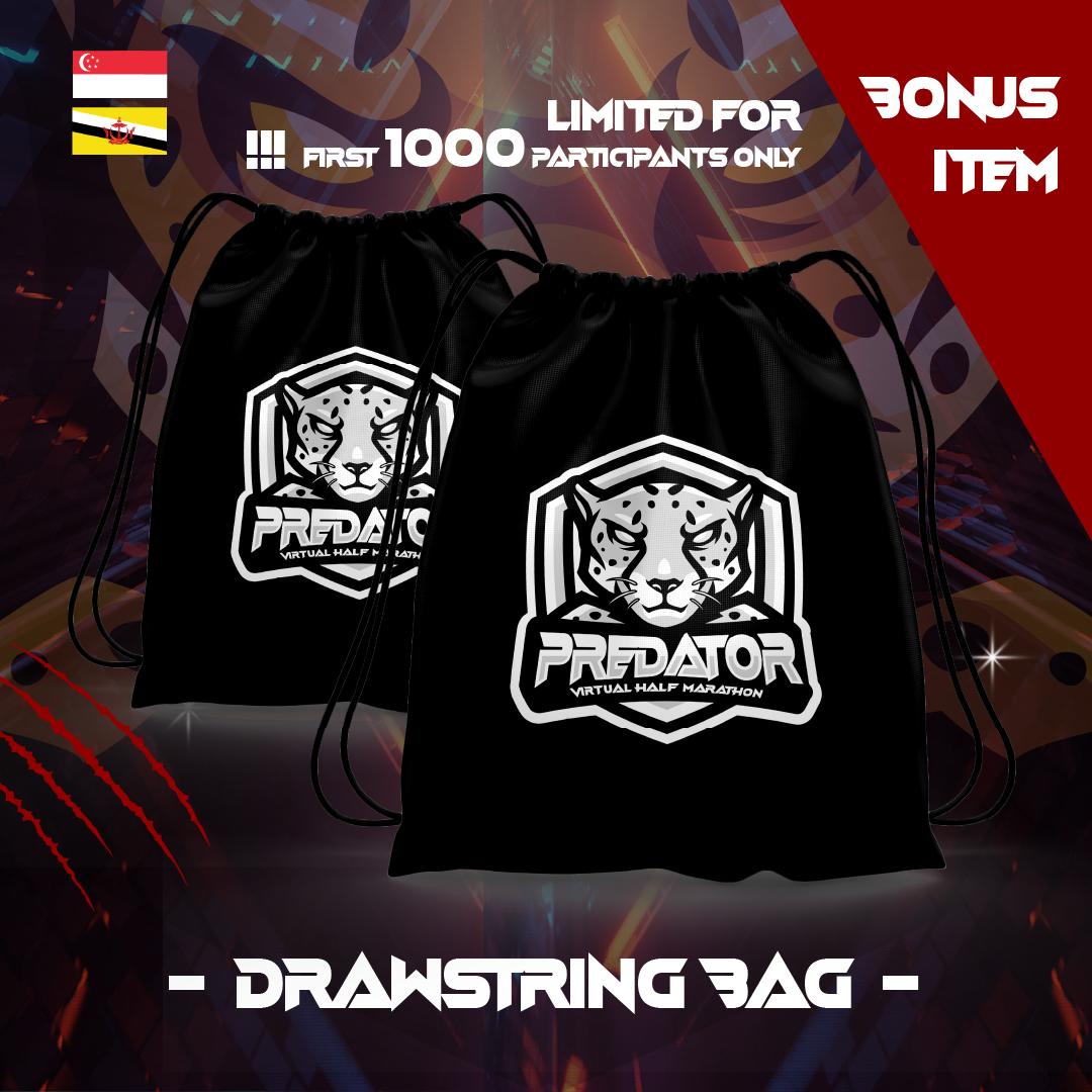 Predator Virtual Half Marathon - SG/BR