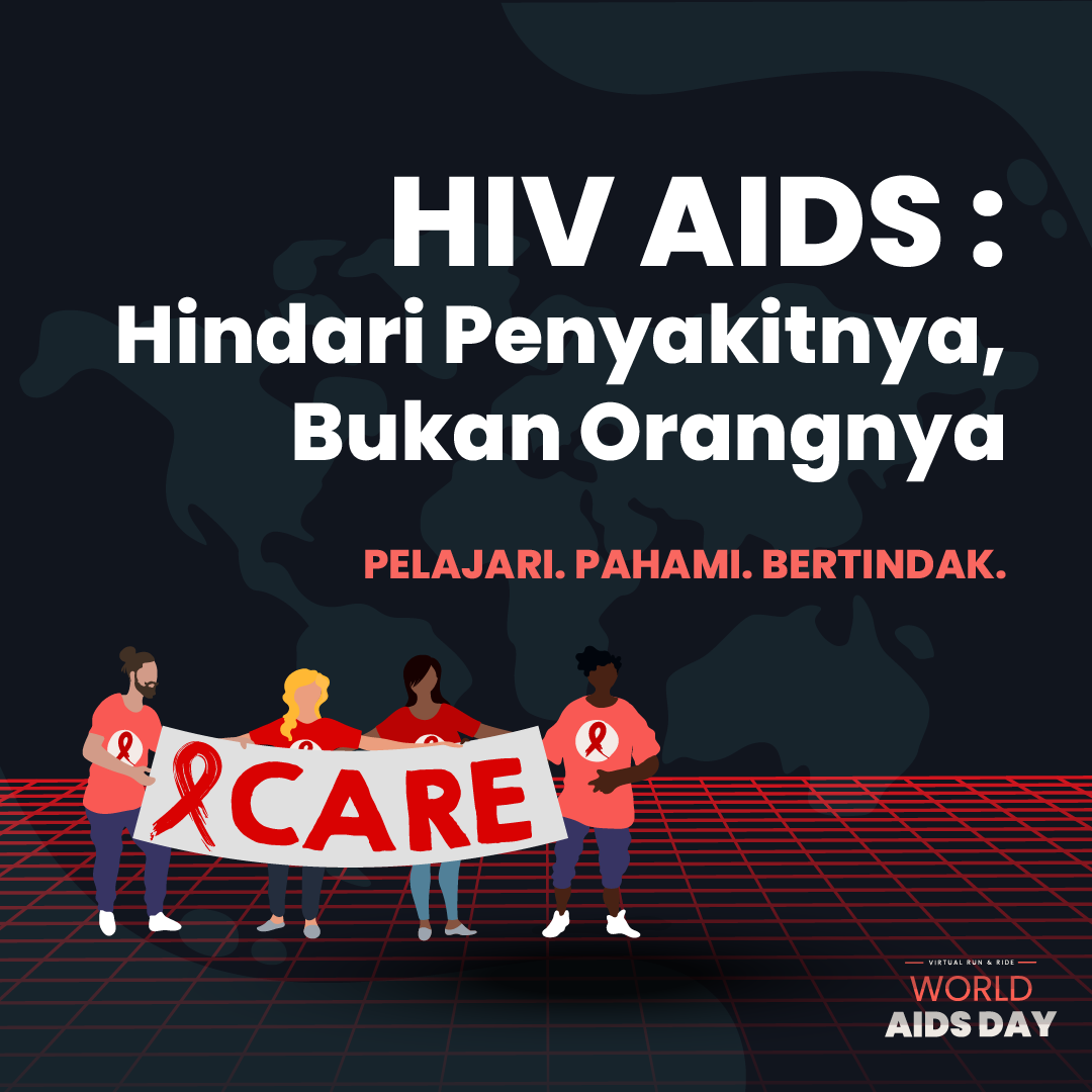 World AIDS Day Virtual Run & Ride - Indonesia