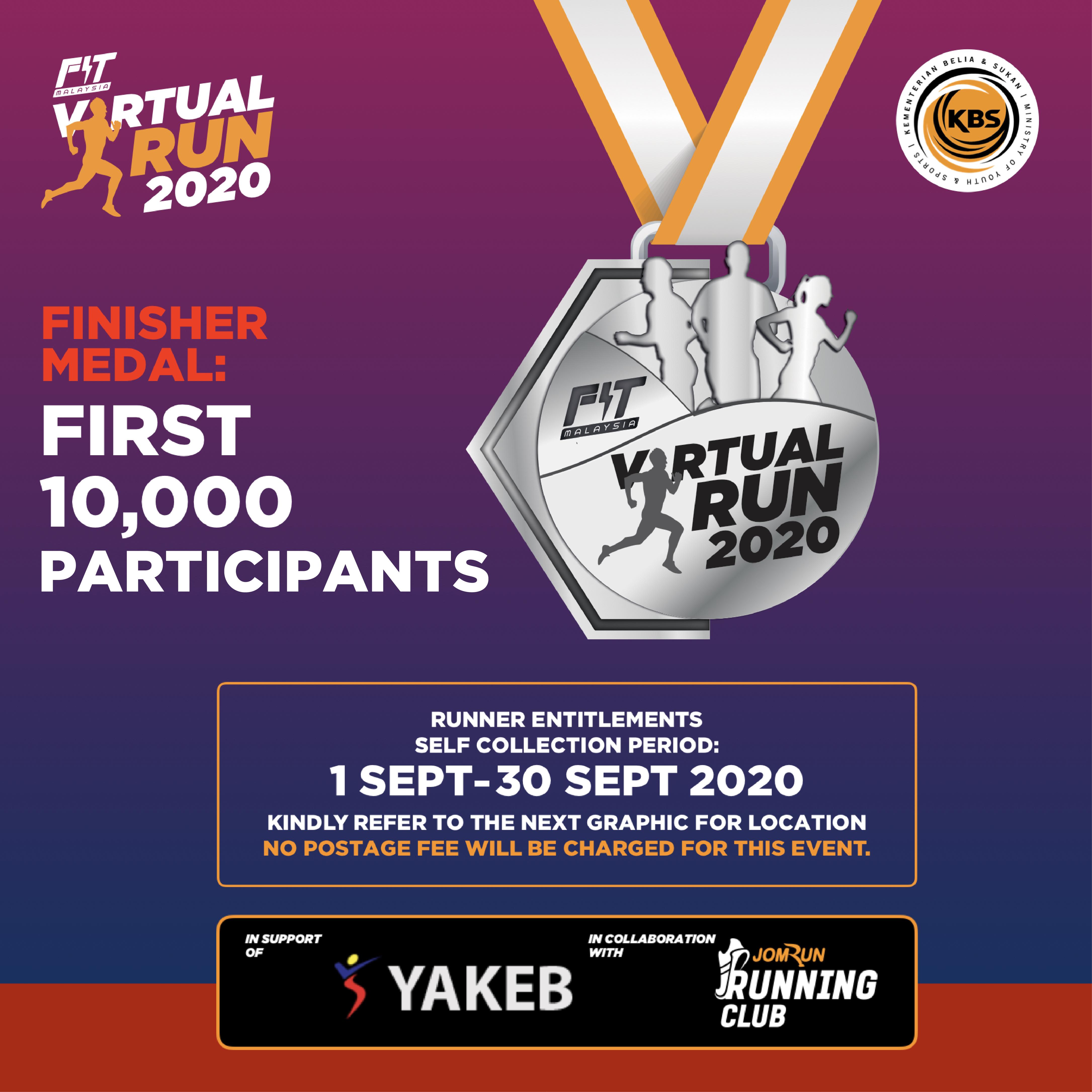 Fit Malaysia Virtual Run 2020