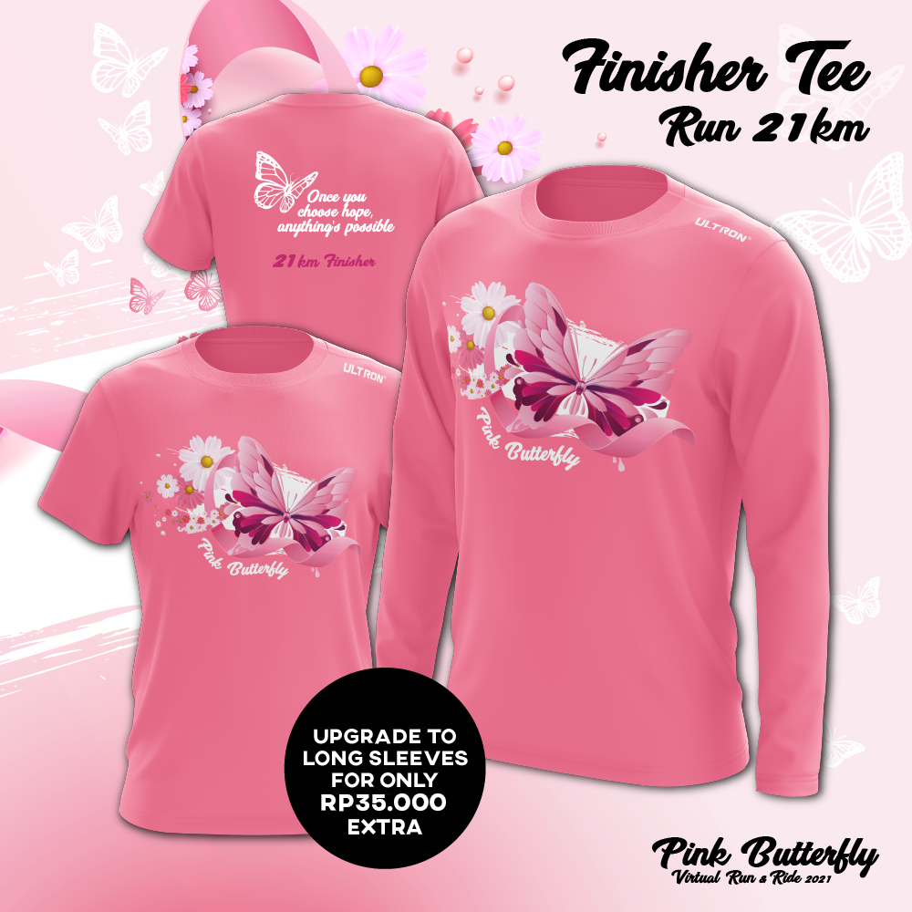 Pink Butterfly Virtual Run & Ride 2021 - Indonesia