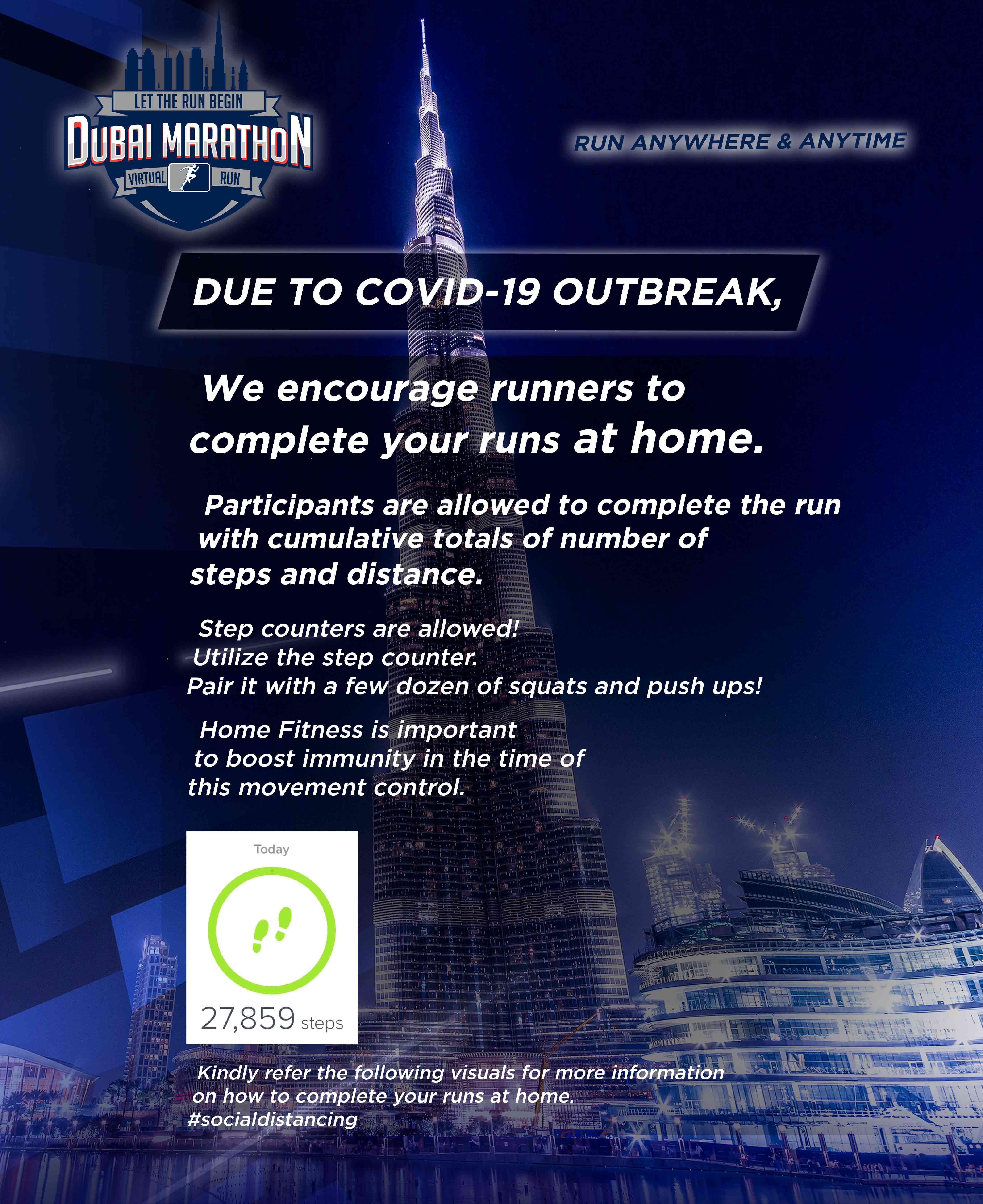 Dubai Marathon Virtual Run - Indonesia