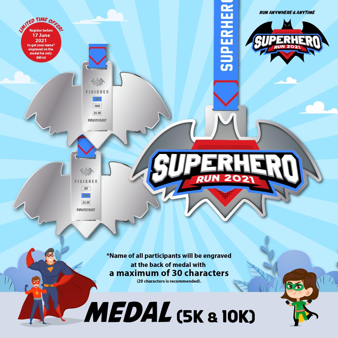 Superhero Run 2021