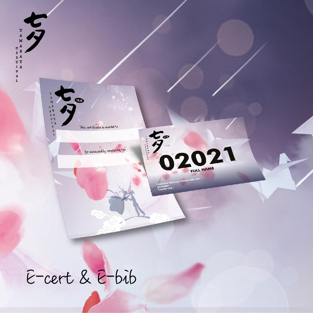 Tanabata Festival 7KM Virtual Run - Singapore/Brunei