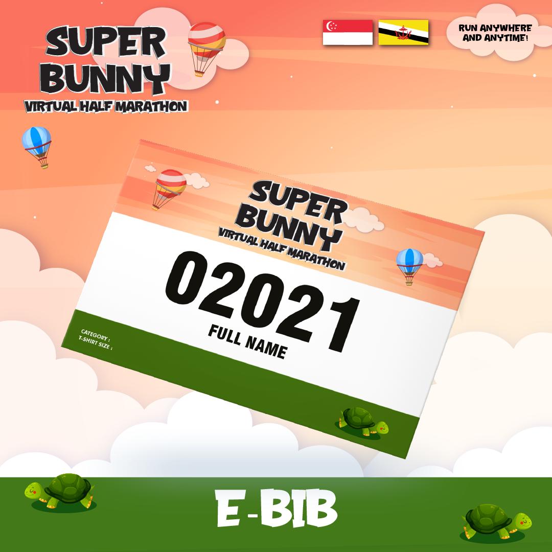 Super Bunny Virtual Half Marathon - SG/BR