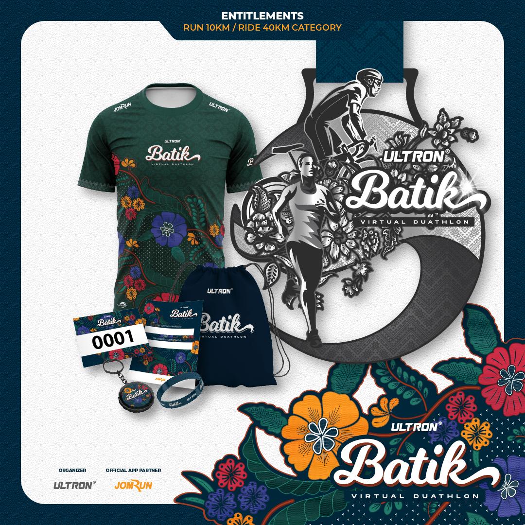 Ultron® Batik Virtual Duathlon - Singapore