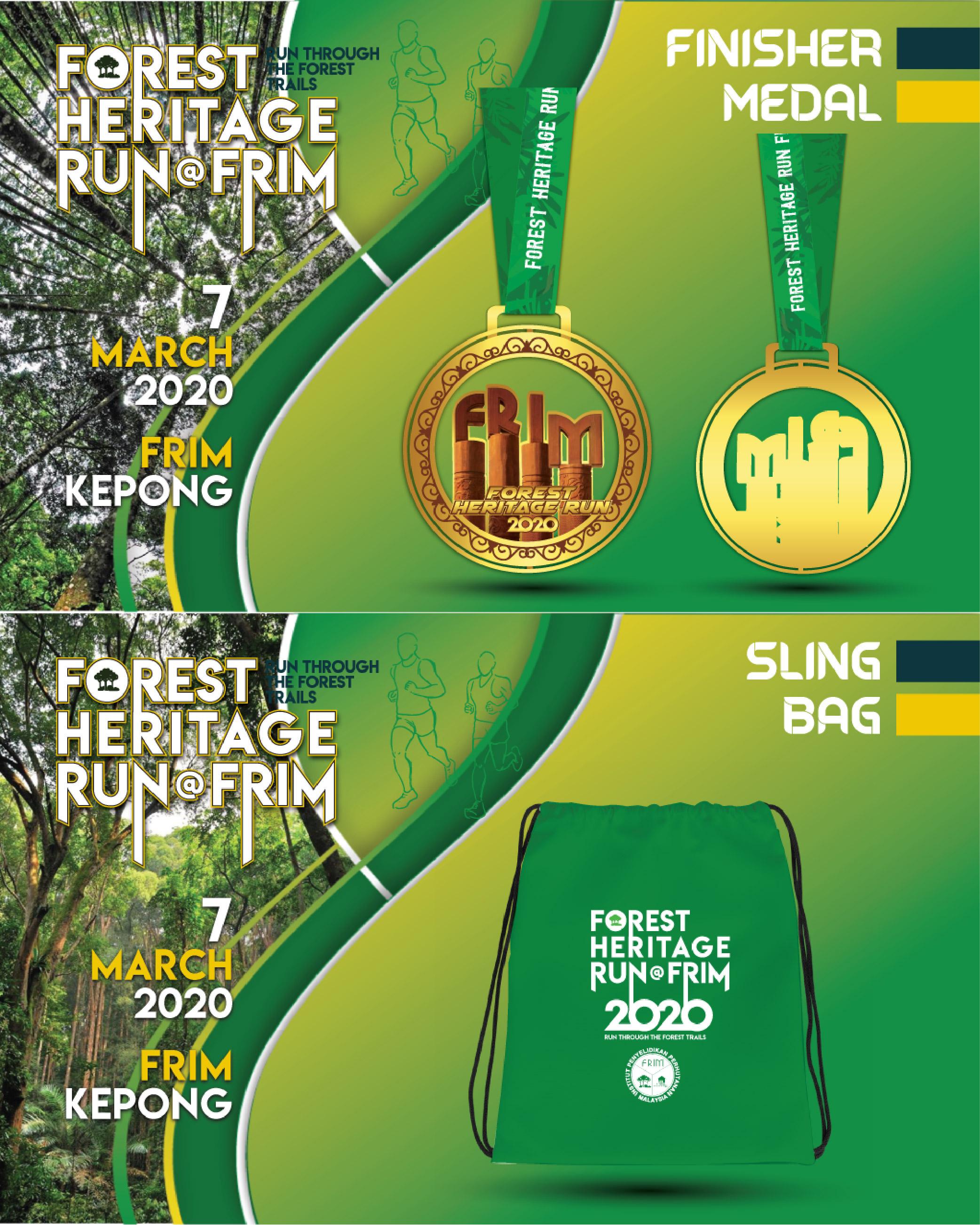 FOREST HERITAGE RUN @ FRIM 2020
