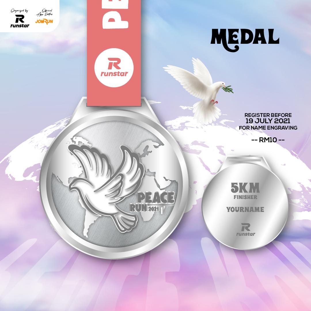 5KM International Peace Run 2021