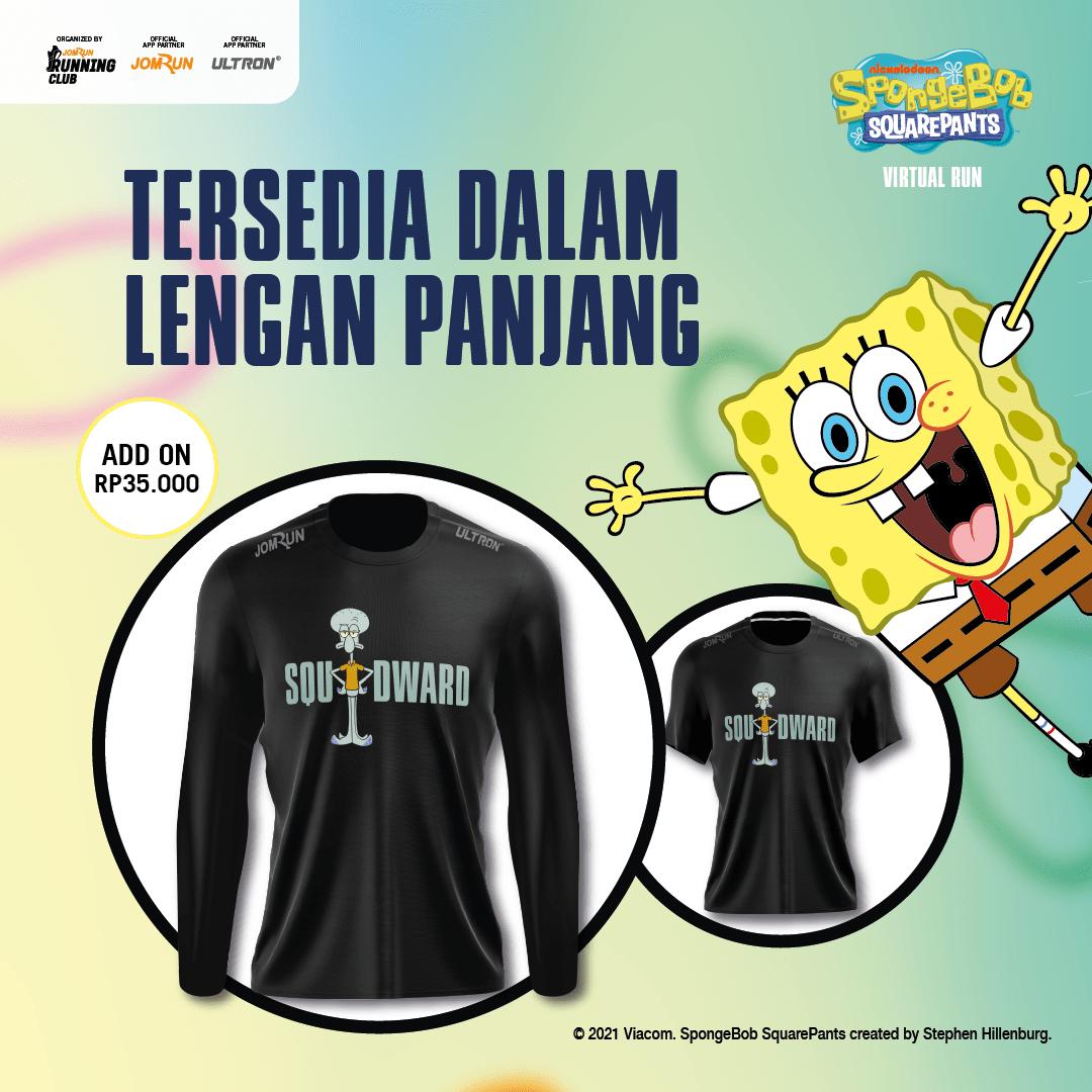 Squidward - SpongeBob SquarePants Virtual Run - Indonesia
