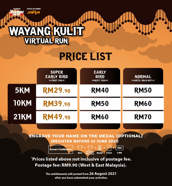 Wayang Kulit Virtual Run