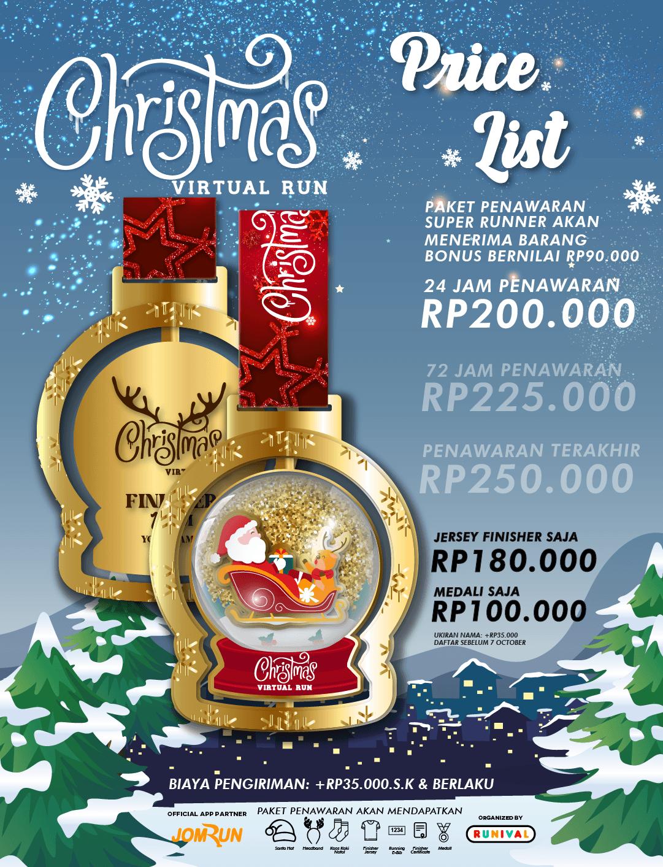 Christmas 10KM Virtual Run - Indonesia