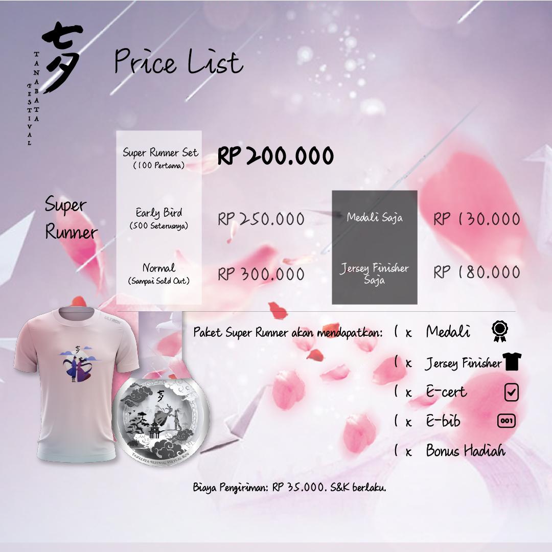 Tanabata Festival 7KM Virtual Run - Indonesia