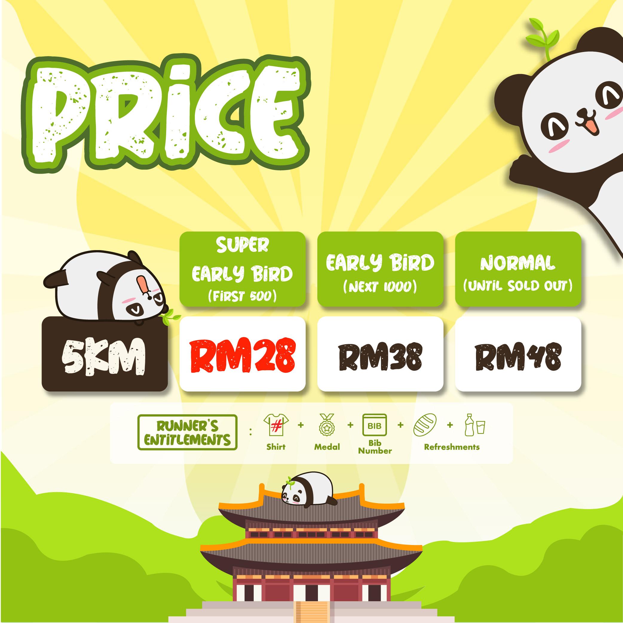 KL Happy Panda 5KM Fun Run 2021