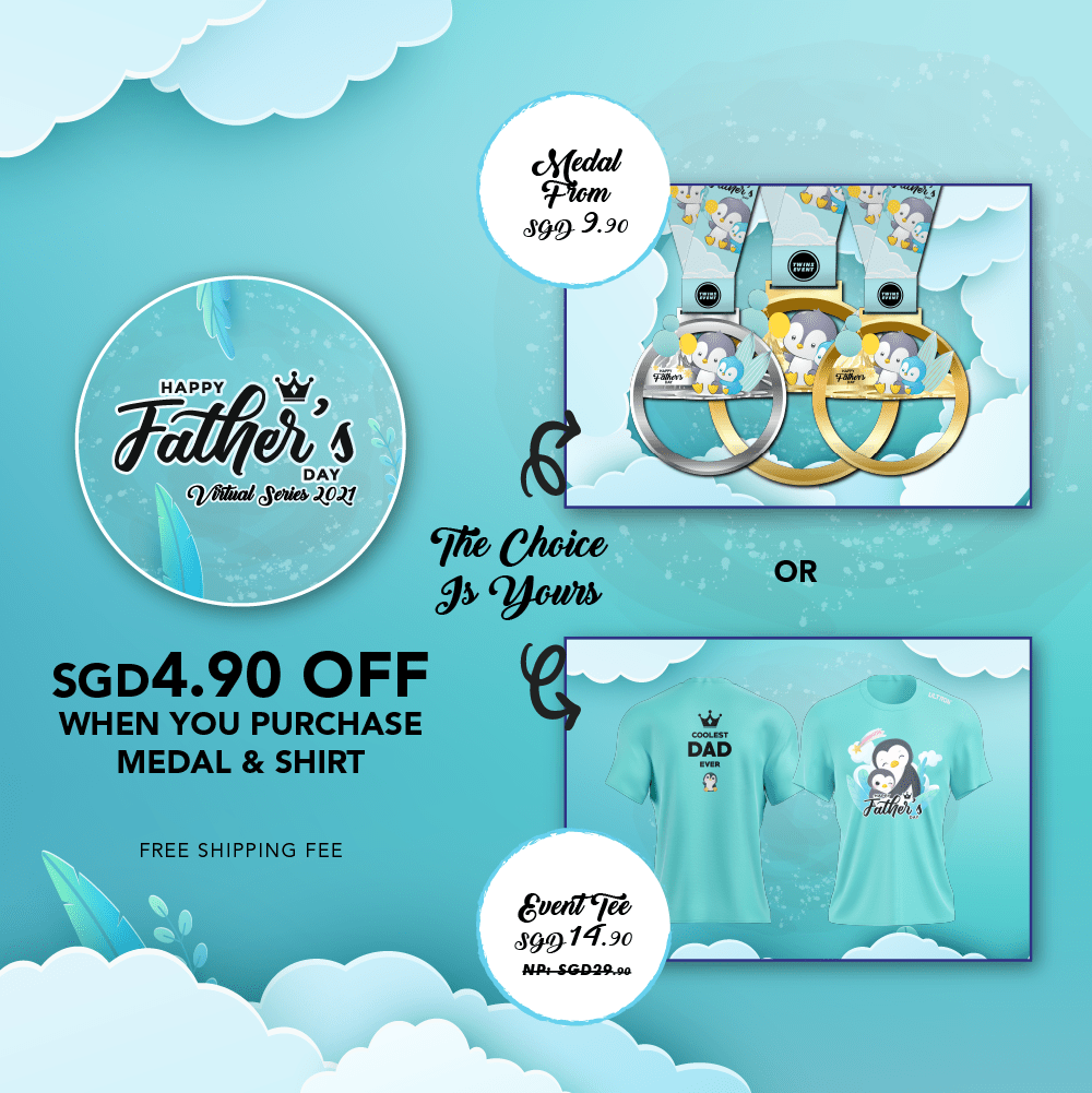 Happy Father's Day Virtual Series 2021 - SG/BR