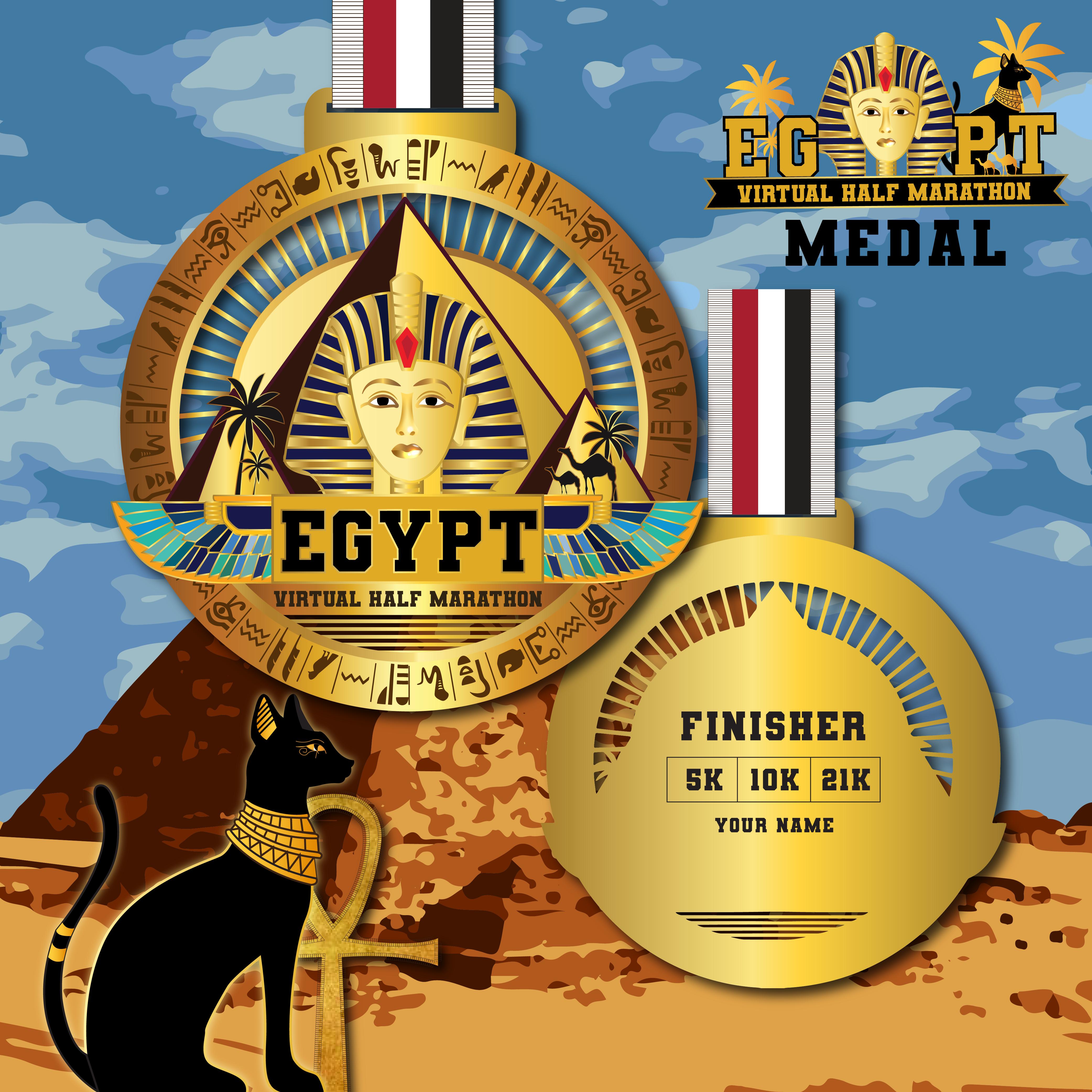 Egypt Virtual Half Marathon