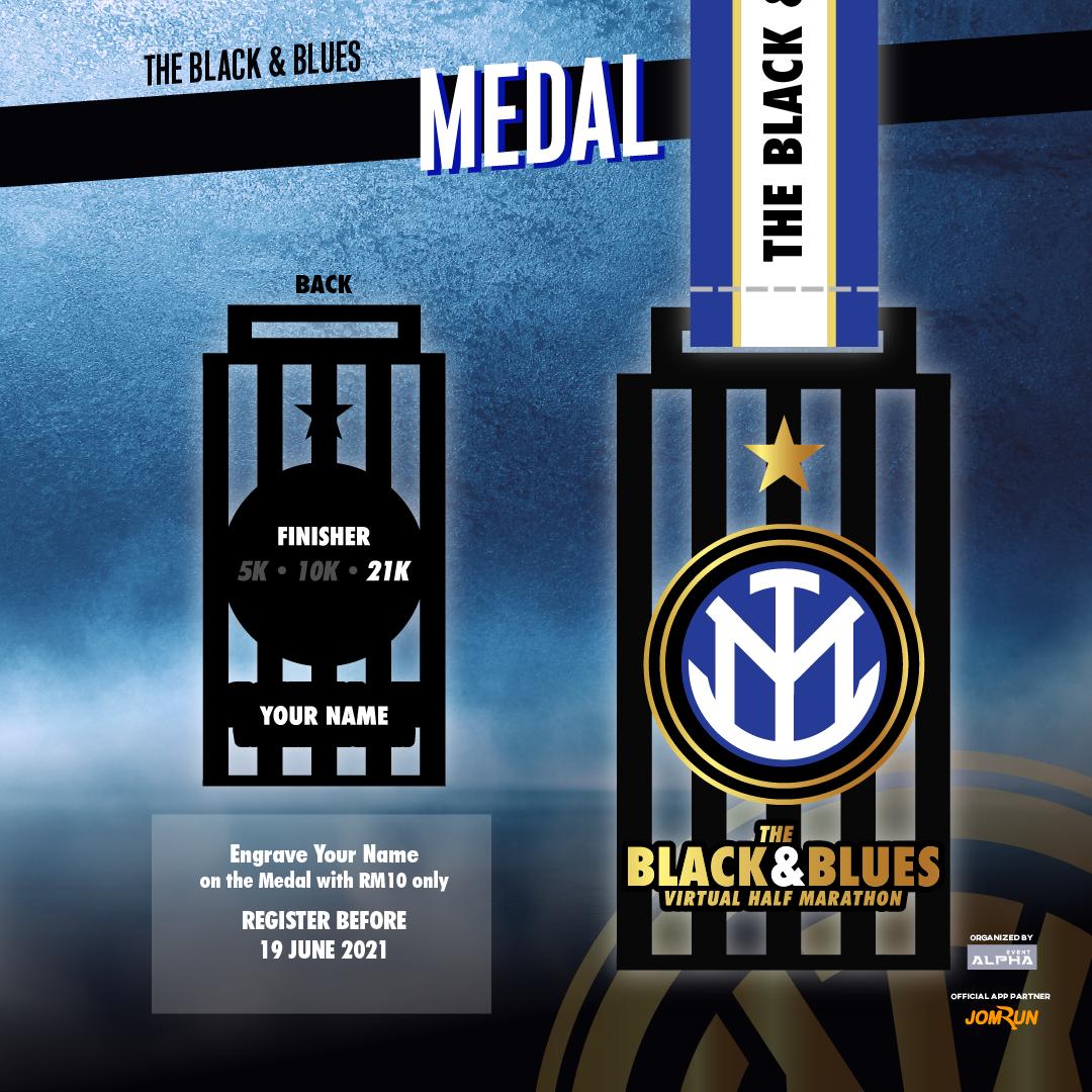 The Black & Blues Virtual Half Marathon