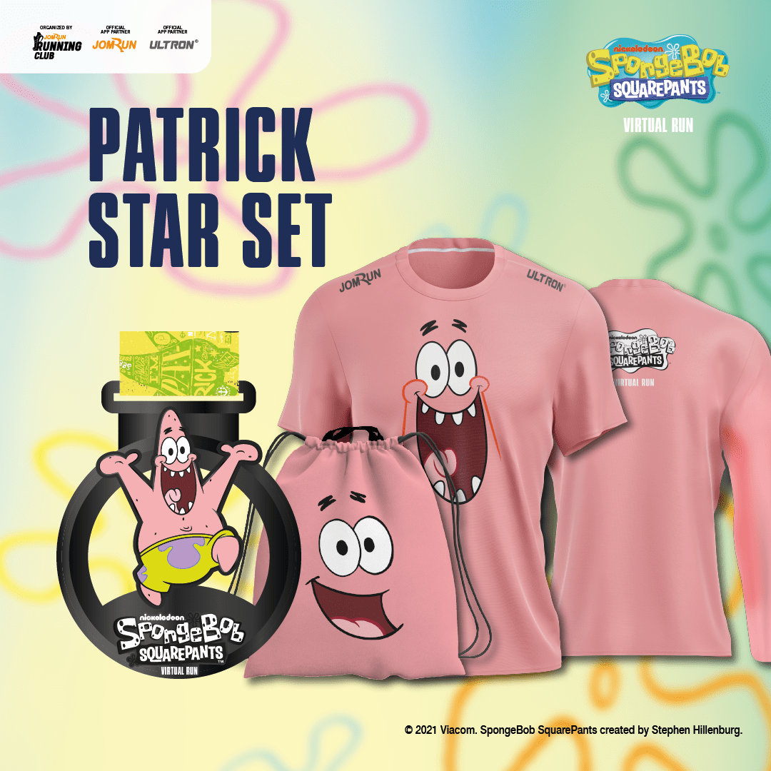 Patrick Star - SpongeBob SquarePants Virtual Run - Singapore