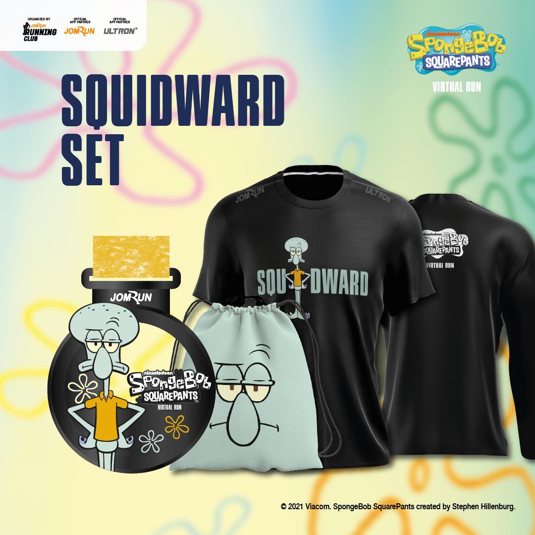Squidward - SpongeBob SquarePants Virtual Run - Singapore