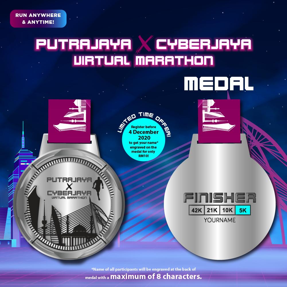 Putrajaya X Cyberjaya Virtual Marathon