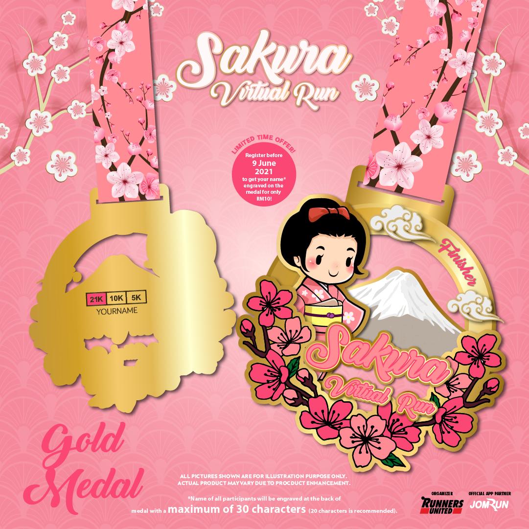 Sakura Virtual Run 2021