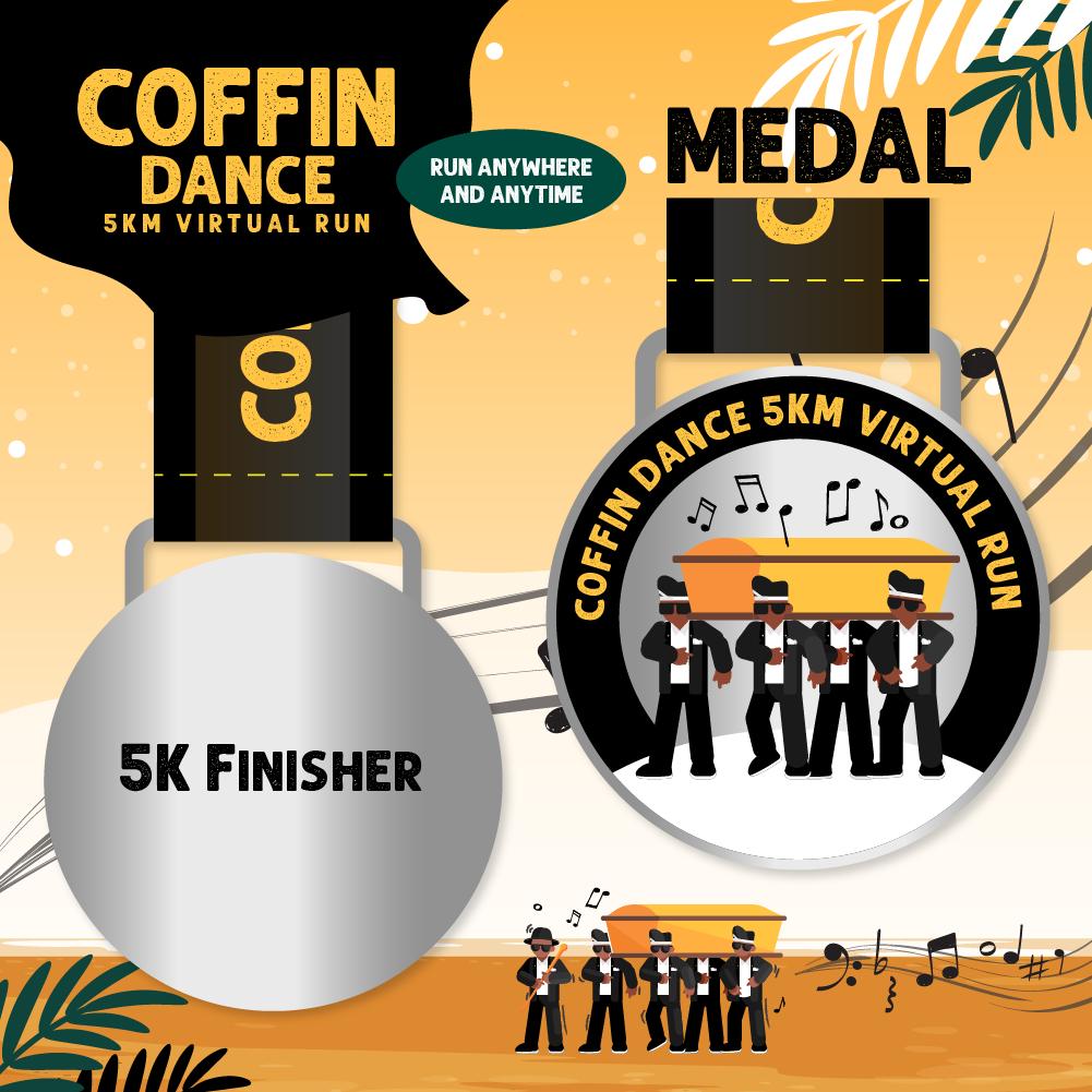 Coffin Dance 5KM Virtual Run