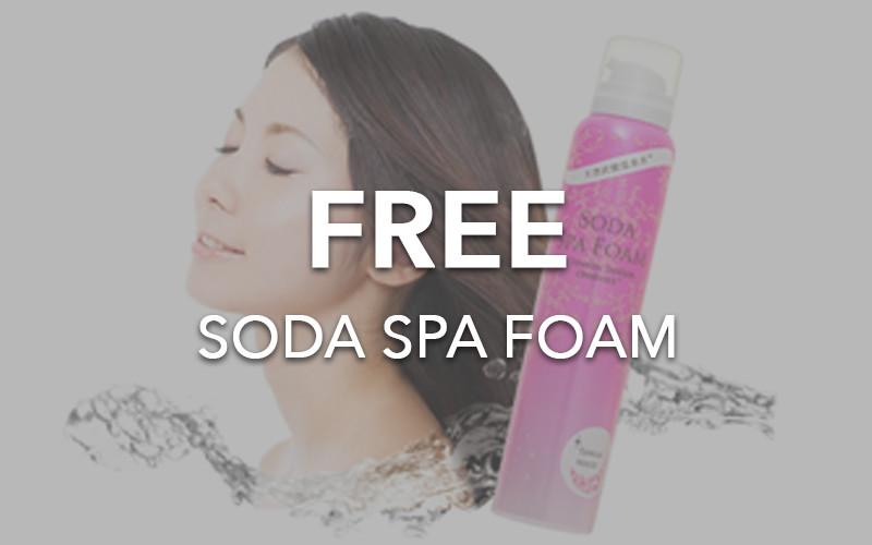 CLEO HAIR & MAKE - FREE Soda Spa Foam